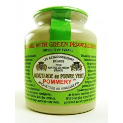 Pommery Green Peppercorn Mustard (Moutarde au Poivre Vert)