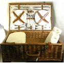 Deluxe 4 Person Fitted Hamper
