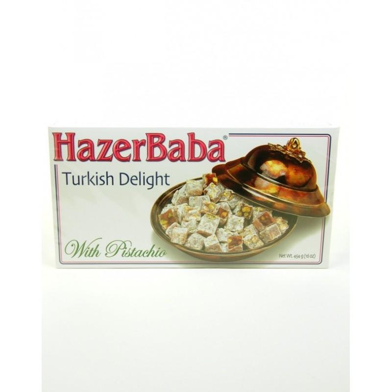 Turkish Delight with Pistachio