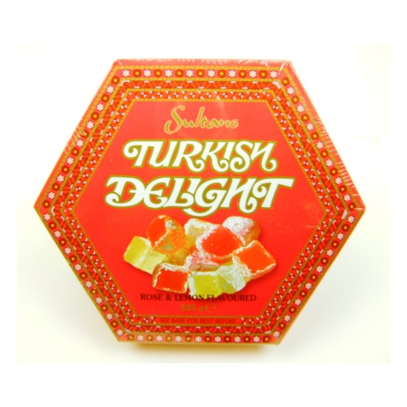Sultans Turkish Delight - Rose & Lemon Flavours 325g