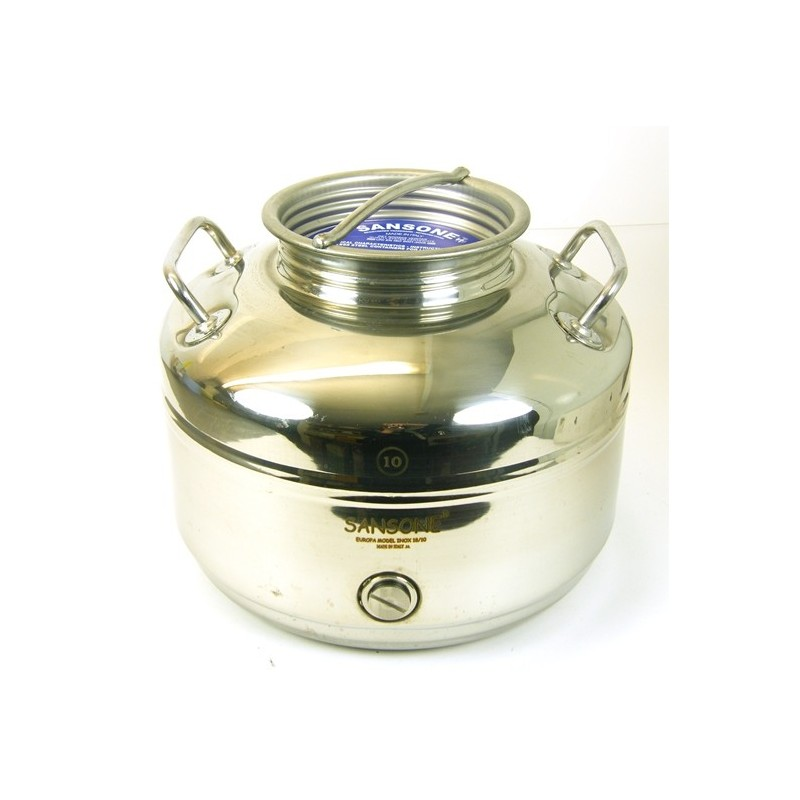 Stainless Steel Tank - 10 Litre