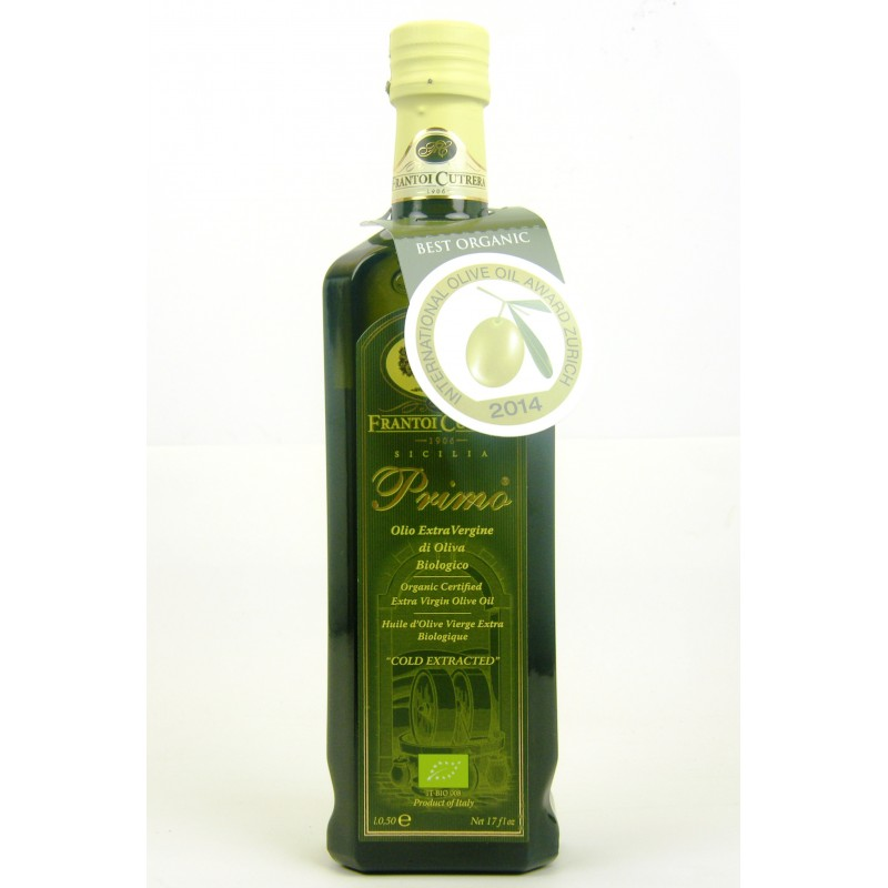 Frantoi Cutrera Primo EV Olive Oil - Organic