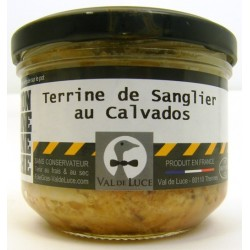 Terrine de Sanglier au Calvados