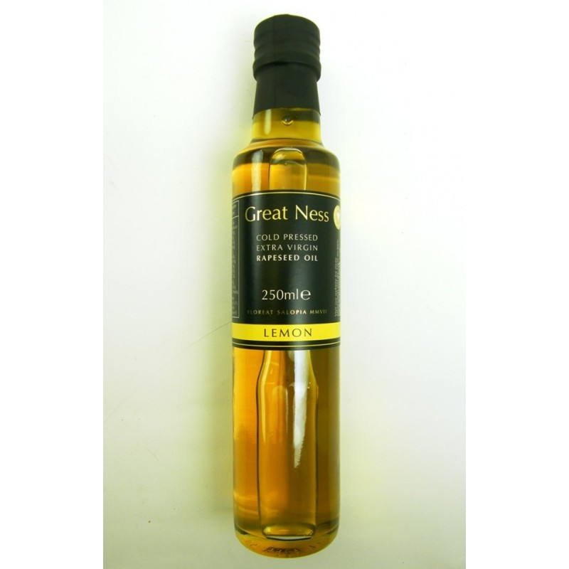 Rapeseed Oil Extra Virgin with Lemon