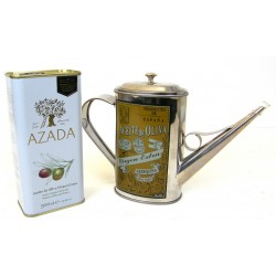 Azada Olive Oil and Oil Can