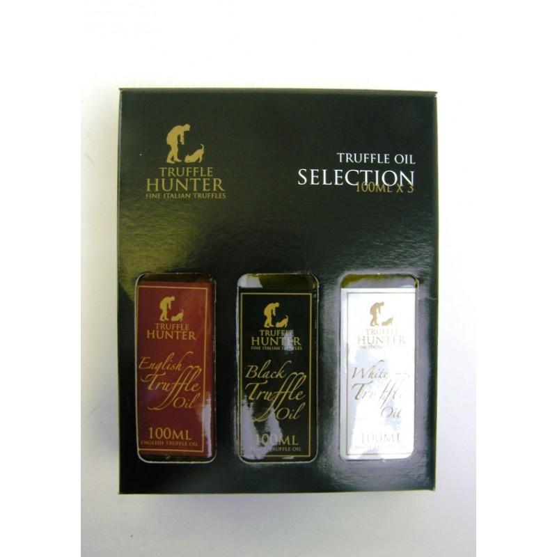Truffle Hunter Truffle Oil Gift Pack (3x100ml)