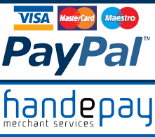Secure payments by credit / debit card